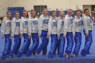 17 December Gymnastics Team PIctures