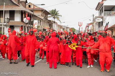 Mardi Gras à Cayenne 2016
