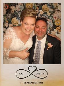 Bruiloft Kaj en Judith