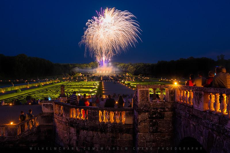 Château de Vaux le Vicomte -Firework
