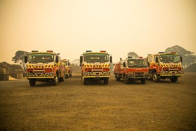 Bushfire - Three Mile NSW Dec 2019