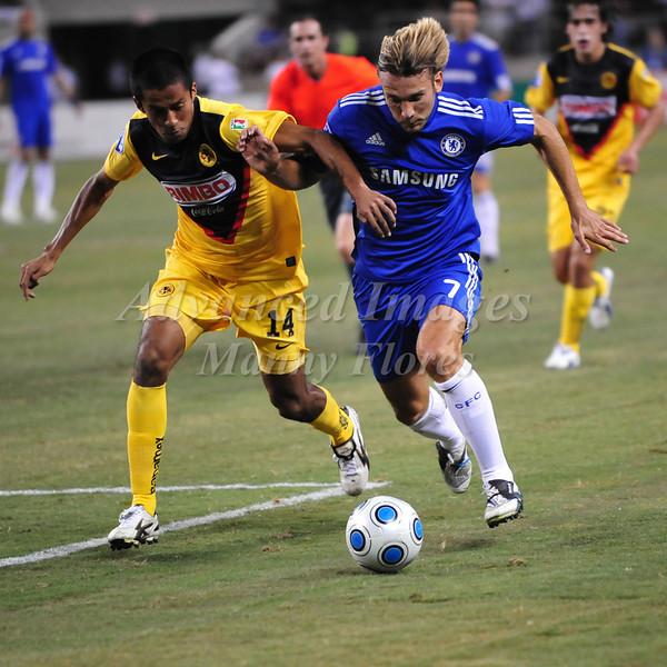 July 26 2009 World Football Challenge - Chelsea FC v Club America: #7 Andriy Shevchenko of FC in action at the Cowboys Stadium in Arlington, Texas.Chelsa FC beats Club America 2-0.