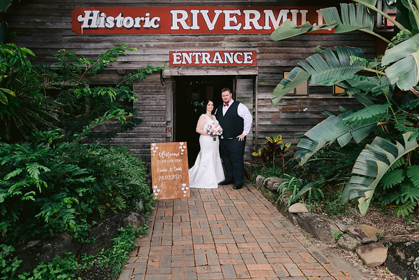 Erinne&Lucas: Historic Rivermill Wedding