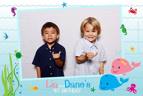 Lia & Dane's 1st Birthday (Party Portraits)
