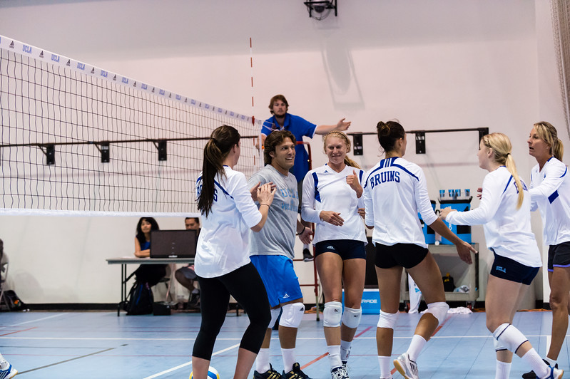 UCLA Women's Volleyball Alumnae Game @ Pardee Gym, Wooden Center