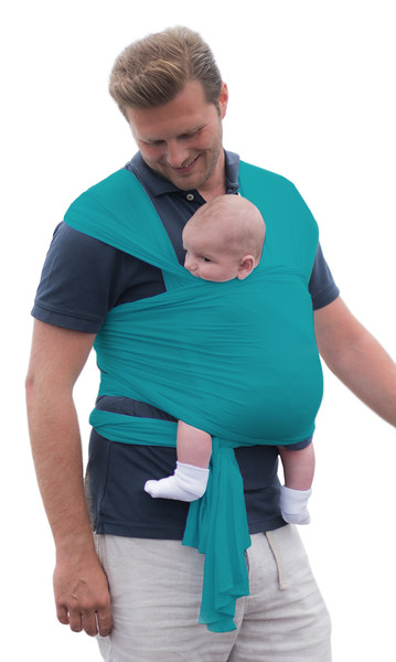 Izmi_Wrap_Product_Shot_Teal_Dad_And_Baby_Front_Carry.jpg
