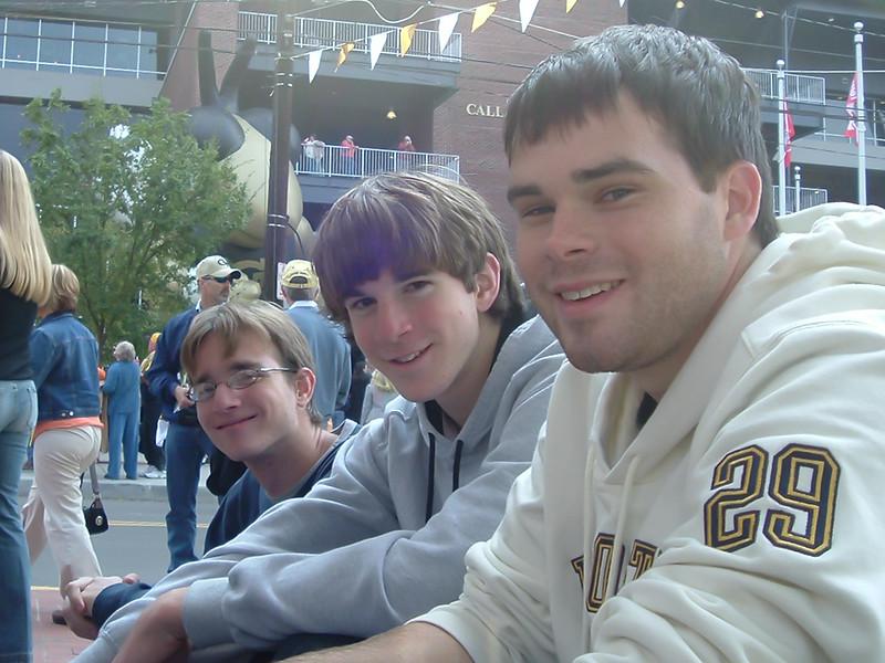 Daniel, Stephen and Noah at GA Tech