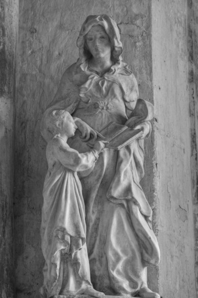 Bar-sur-Seine, Church of Saint Stephen, The Education of The Virgin