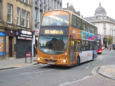 BRADFORD AND HALIFAX BUSES OCT 2019