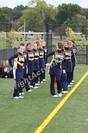 2009 10 01 JV Cheer vs Royal Oak