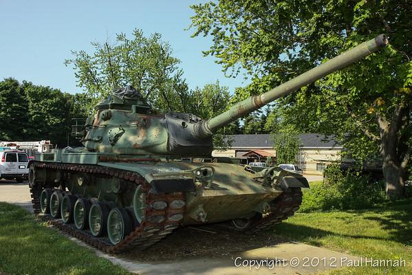 Engine House #5 Museum - Allendale, MI - M60A0 & M60A3