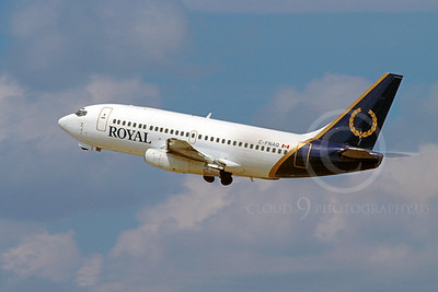 Royal Airline Boeing 737 Airliner Pictures