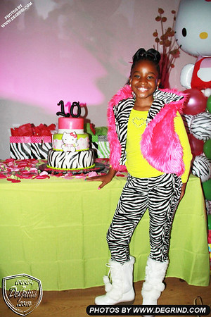 PRINCESS SHANIA'S 10TH BIRTHDAY PARTY
