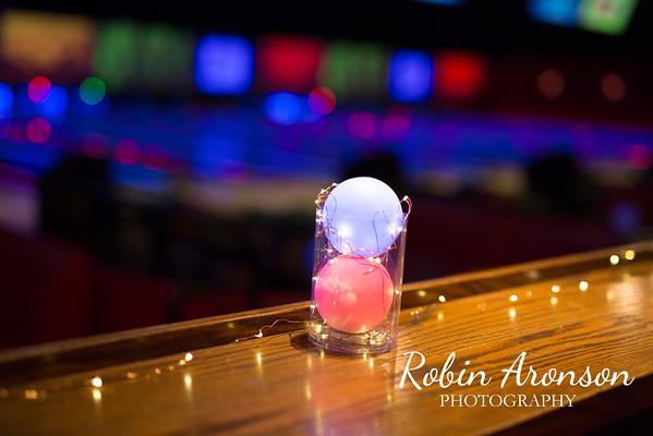 Ezra Bowling Party 1-9-16