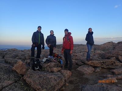 2016 Longs Peak Hiking Trip
