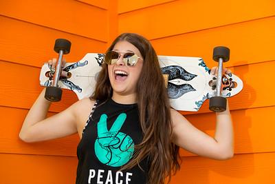 Eevie Mini Skateboard Session