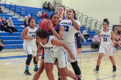 Girls basketball: Potomac Falls vs. Tuscarora 1.14.2019 (By Jeff Scudder)