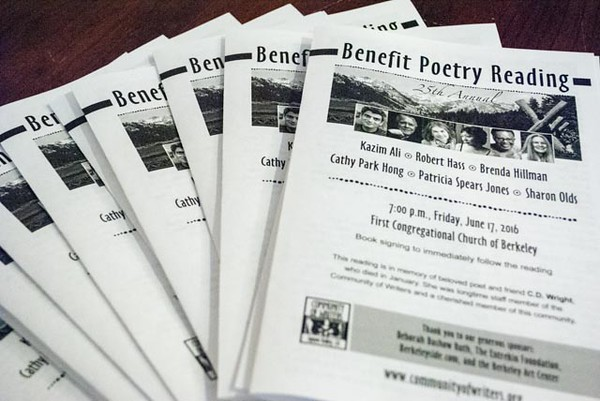 2016 Benefit Poetry Reading