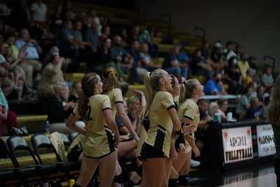 Madison Grant Volleyball vs Oak Hill 9-14-21