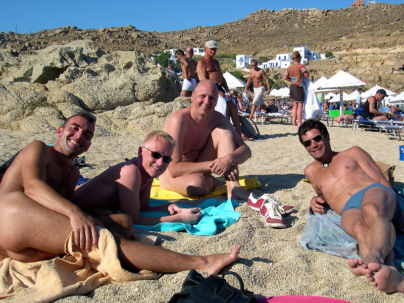 Yiannis, Søren, Frank and Tony