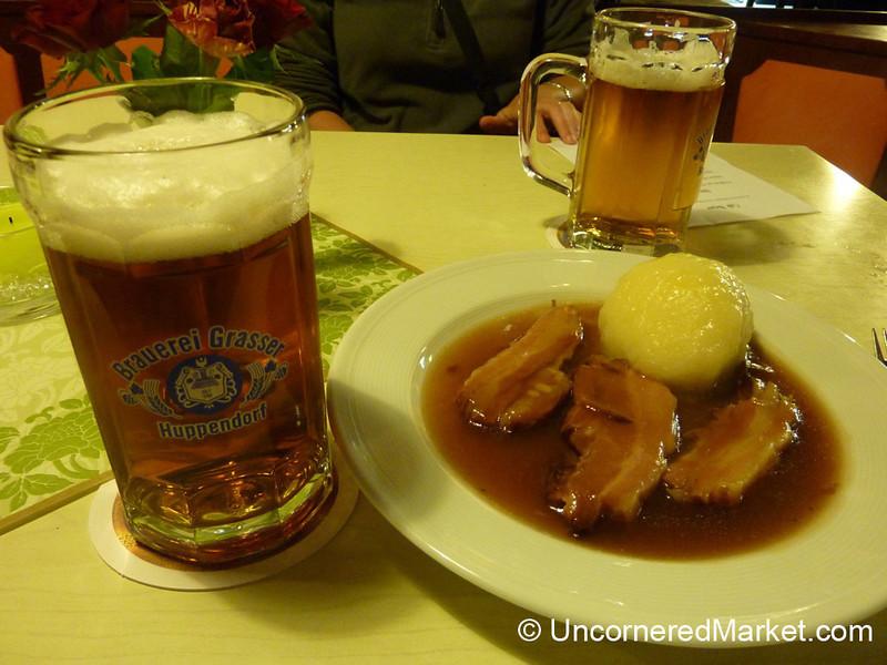 Smoked Pork and Beer - Thurnau, Germany