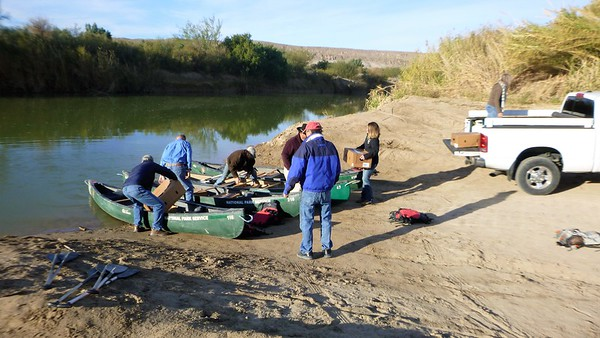 2017 Christmas Eve in Boquillas with Santa