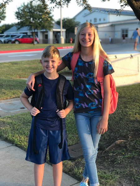 Carson and Olivia | 5th and 7th | Knowles Elementary School and Running Brushy Middle School