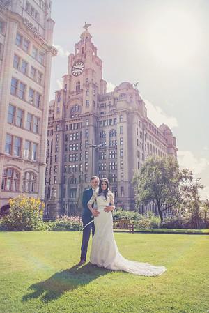 Mr & Mrs Clarke - St George's Hall, then The Raquet Club, Liverpool