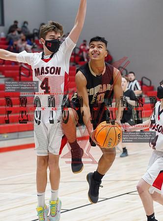 Manassas Park @ George Mason Boys JV Basketball 1-12-21