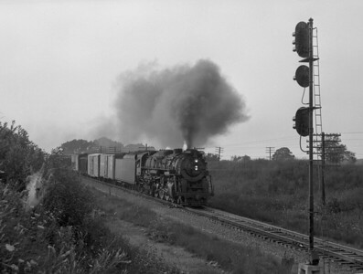 NKP—Steam Locomotives and Trains