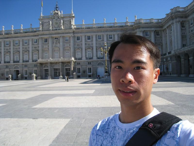 JC at palacio real