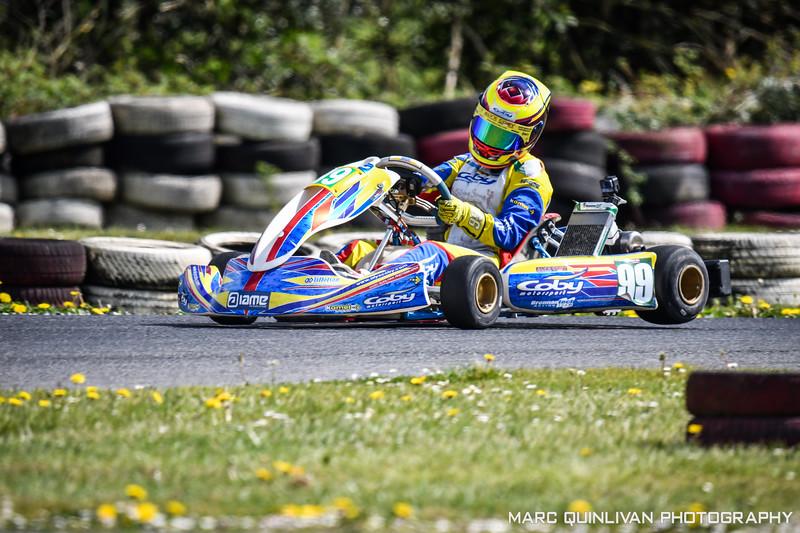 Tullyallen Kart Club - 2019 Championship - Round 2 - Galway - Alyx Coby