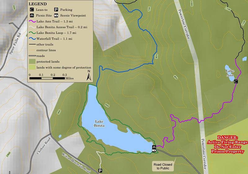 Moreau Lake State Park (Lake Bonita Area Trails)