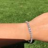 9.50ctw Round Brilliant Diamond Tennis Bracelet 56