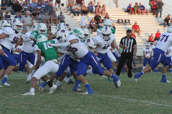 2019-Sept-13 Varsity Football Midland Christian