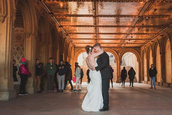 Central Park Elopement - Amanda & Bruce
