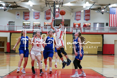 12/10/2019  Wilson Girls Basketball vs Cedar Crest