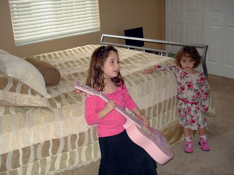 Pink Guitar in Auntie Anne's Room.jpg