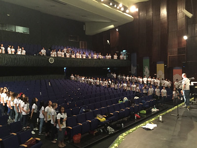 Asian Middle School Honor Boys' and Girls' Choirs