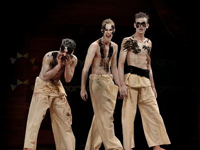 Hamilton Boys' High School: Titus Andronicus - Act I sc i, Act II sc iii, Act III sc i, Act V sc ii