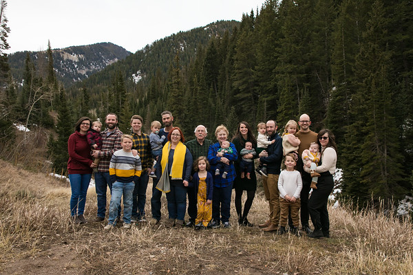 All extended Family