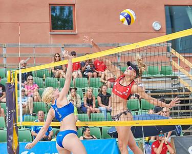 Under 20 European Beach Volleyball Championship | Beach Center | Gothenburg | Sweden | 2019-06-27_2019-06-28