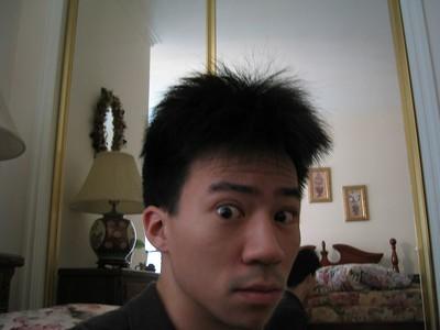 2003.01.19 Sunday - Ben's Luke-Tso-hair morning @ Eileen Fung's in Cerritos