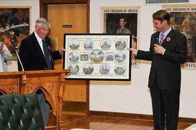 May 2008 - Painting Presentation to Mayor McCoy