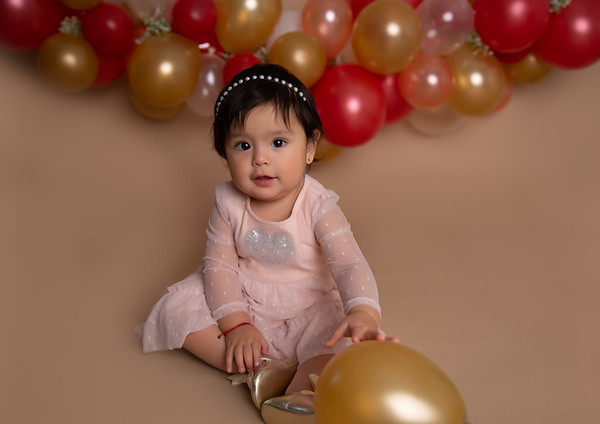 Baby A's 1st year session