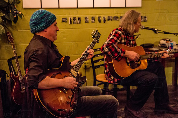 Buce Piephoff & Scott Sawyer at Common Grounds