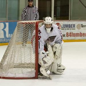 Peters Township vs Canon Mac Ice Hockey 1-21-2013