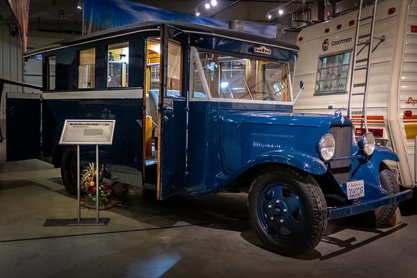 Mae West's 1931 Chevrolet Housecar