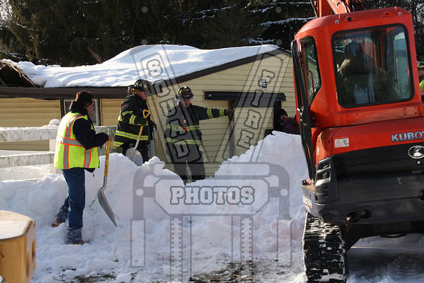 Tolland, Ct Barn collapse with entrapment