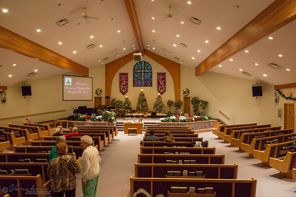 Evans Wood Church Xmas Service